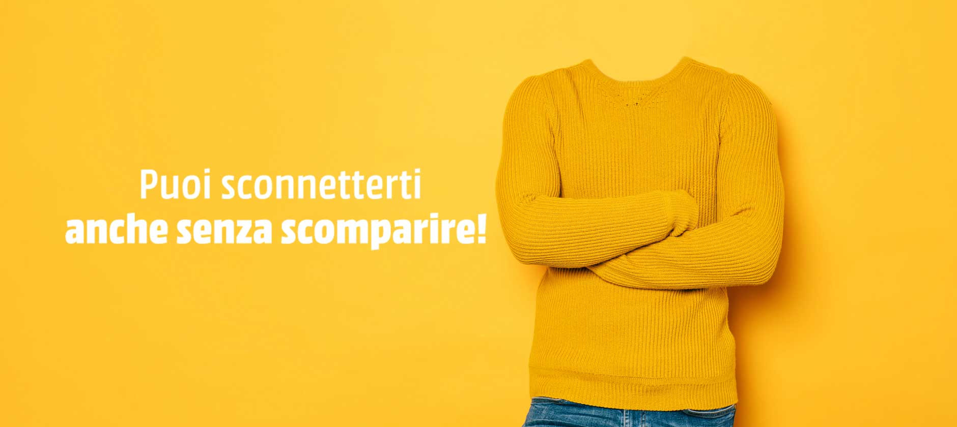 Sconnessi sì… ma con intelligenza