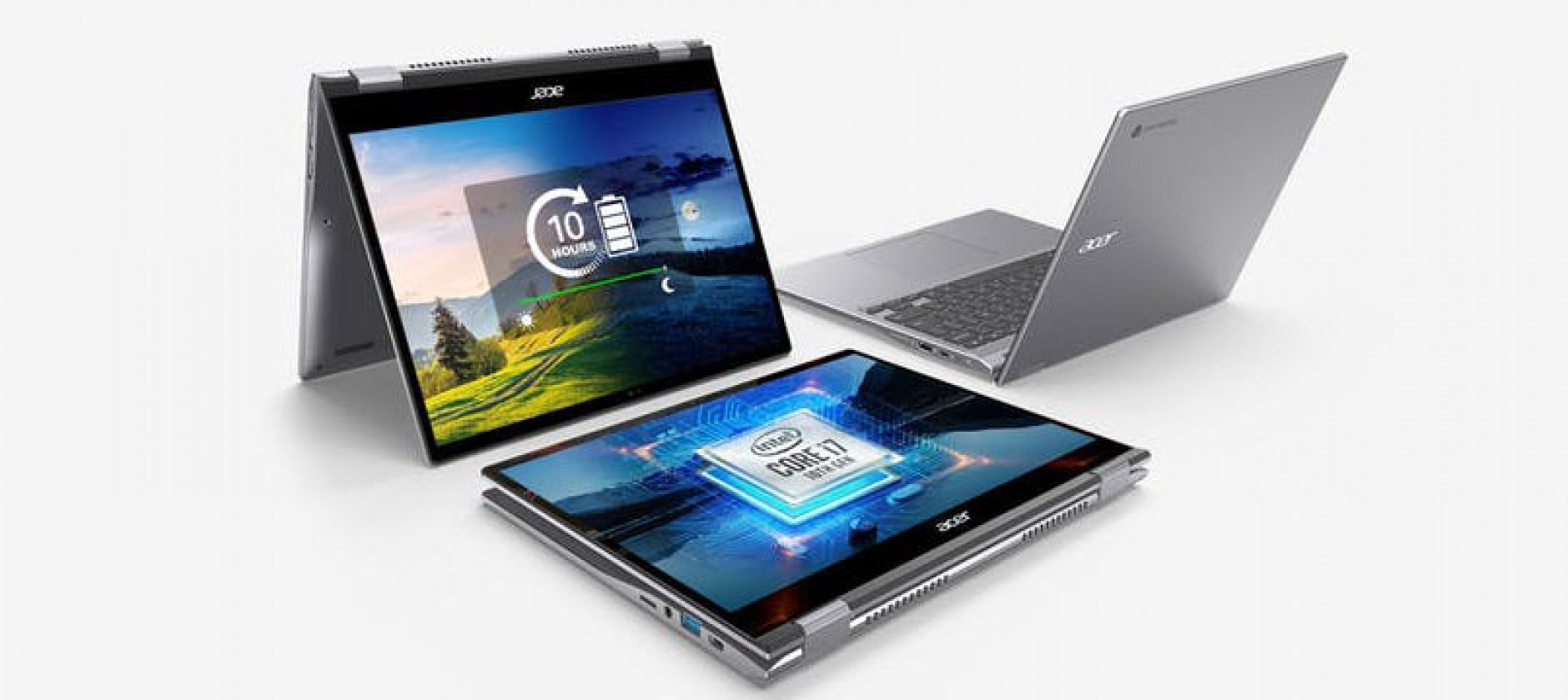 Acer anticipa il back to school con due nuovi Chromebook convertibili.