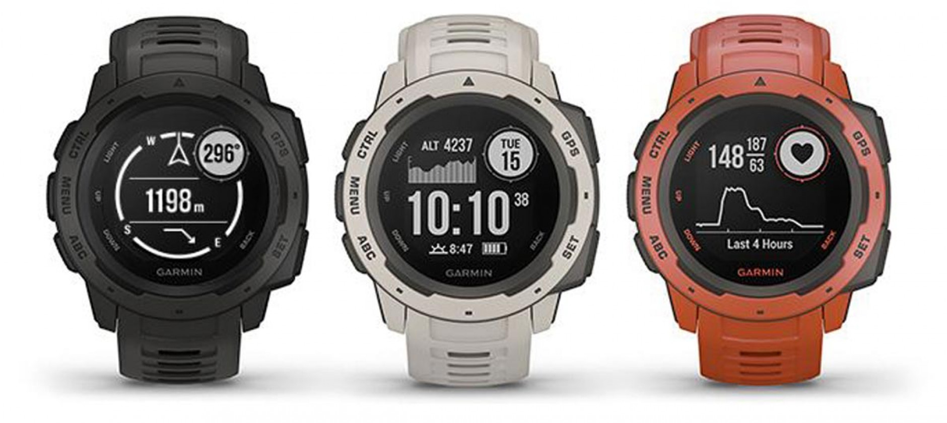 Garmin Instinct, il wearable nato per l'avventura