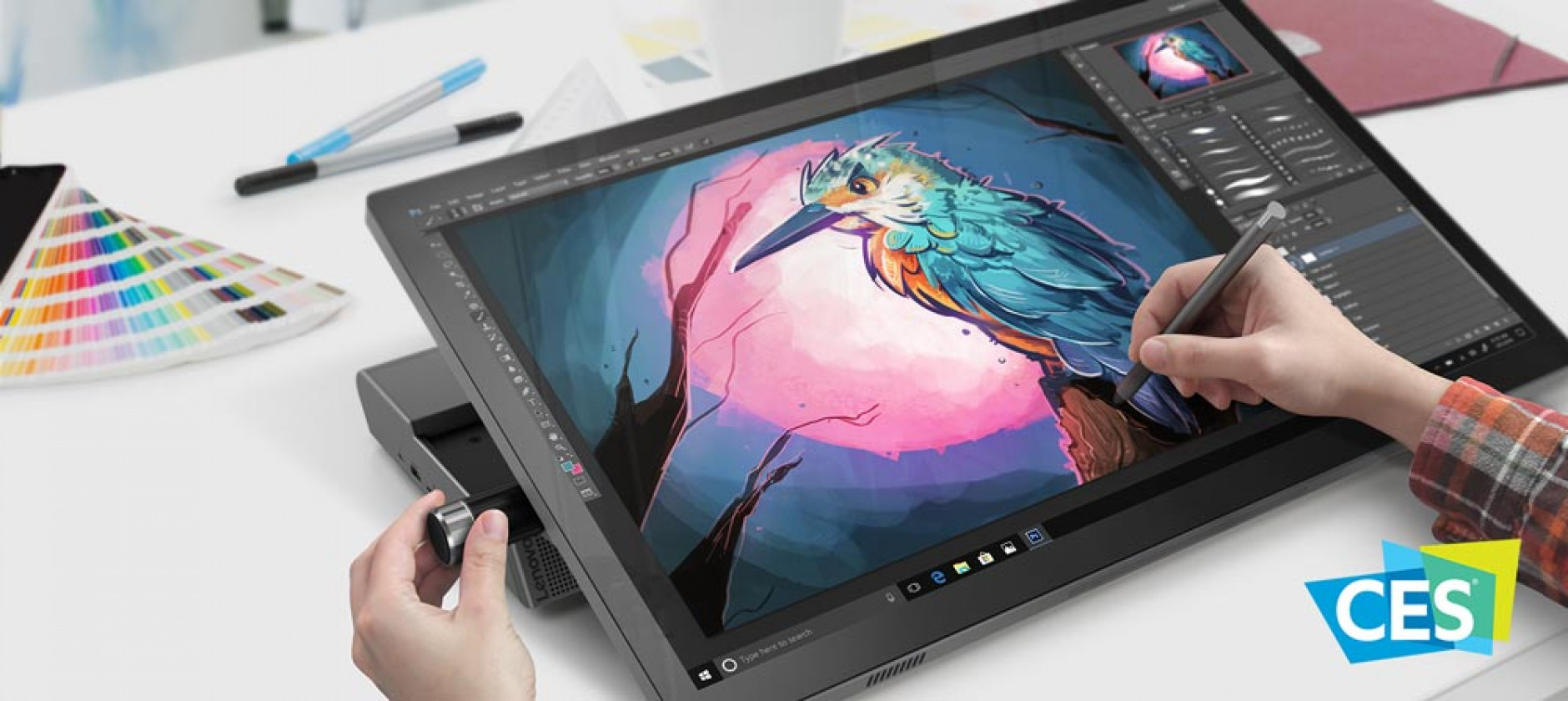 Lenovo Yoga A940, il desktop all-in-one che sfida il Surface Studio di Microsoft