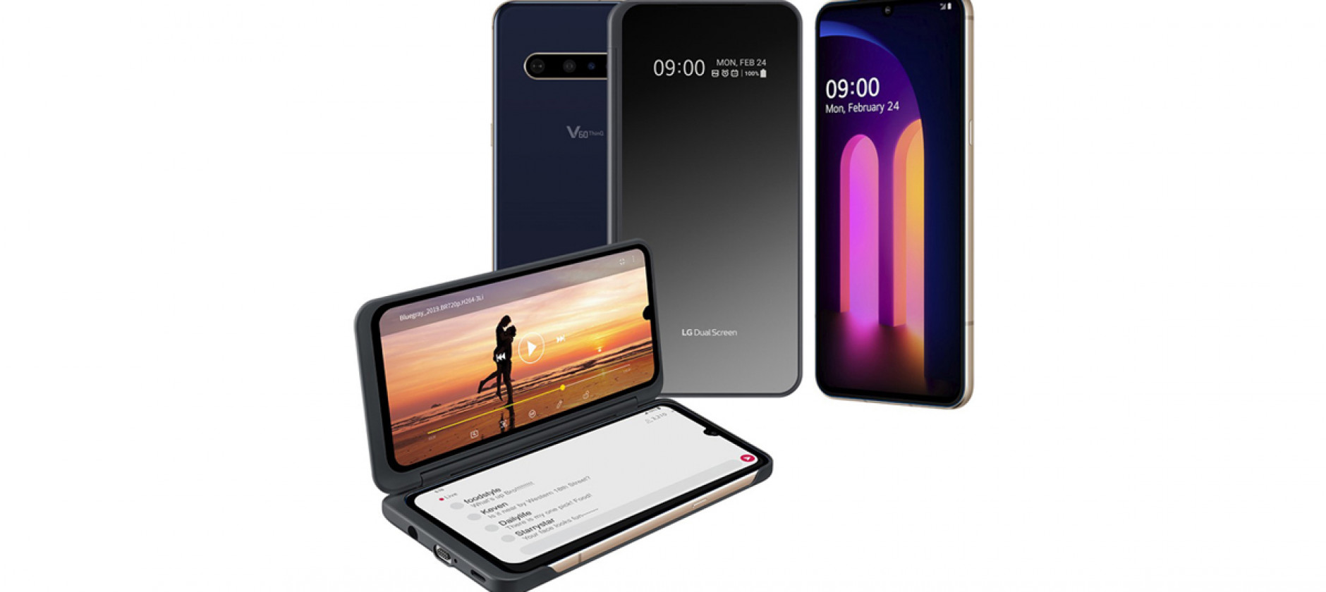 LG V60 ThinQ 5G è perfetto per la multimedialità e l'intrattenimento