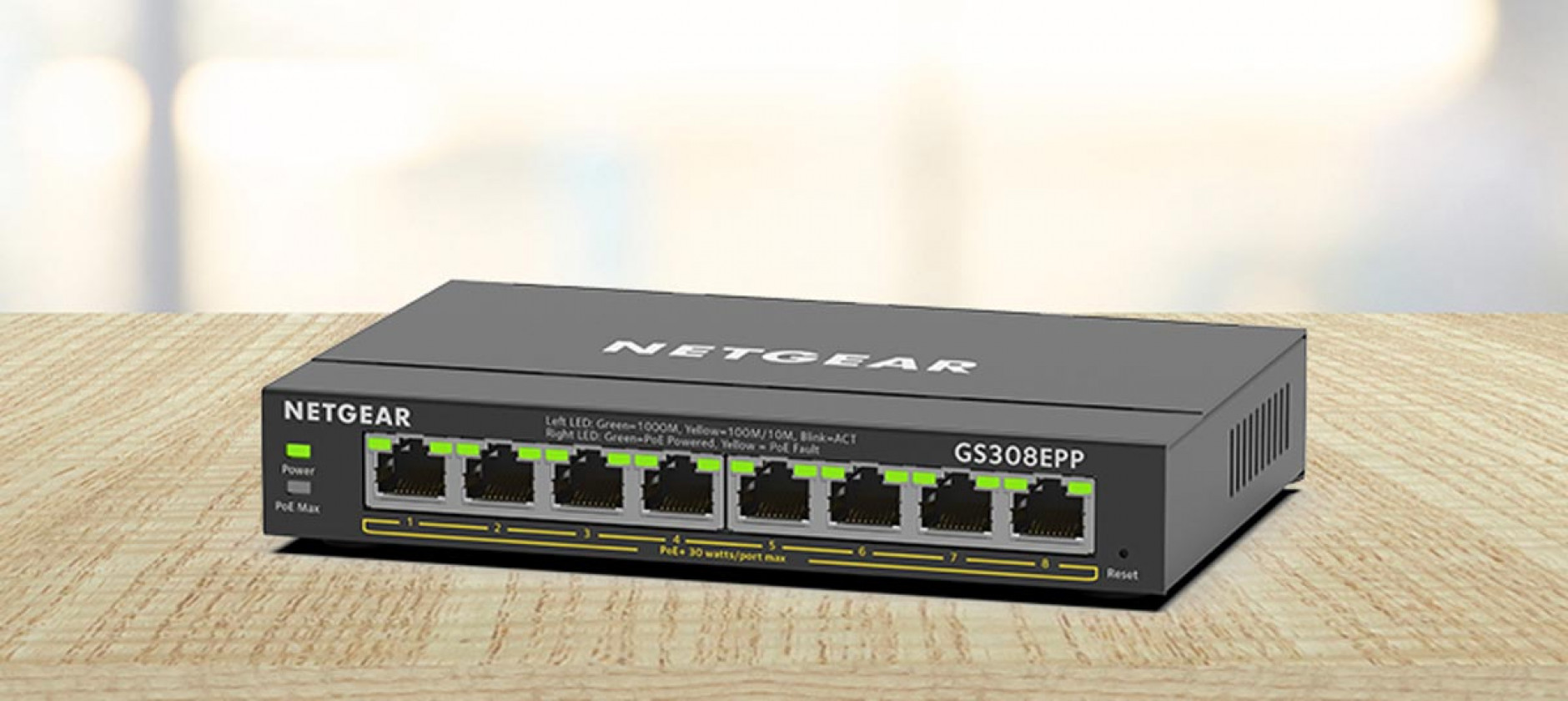 Netgear lancia quattro nuovi switch Gigabit Ethernet Plus