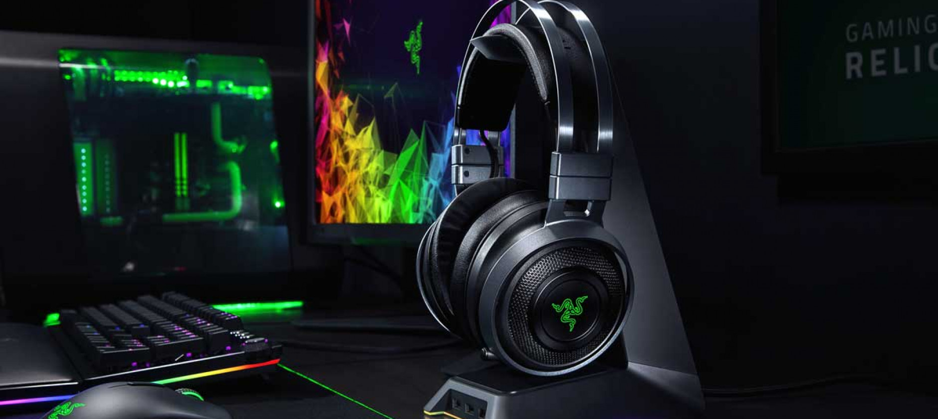 Razer Nari Ultimate, le cuffie wireless ideali per il gaming