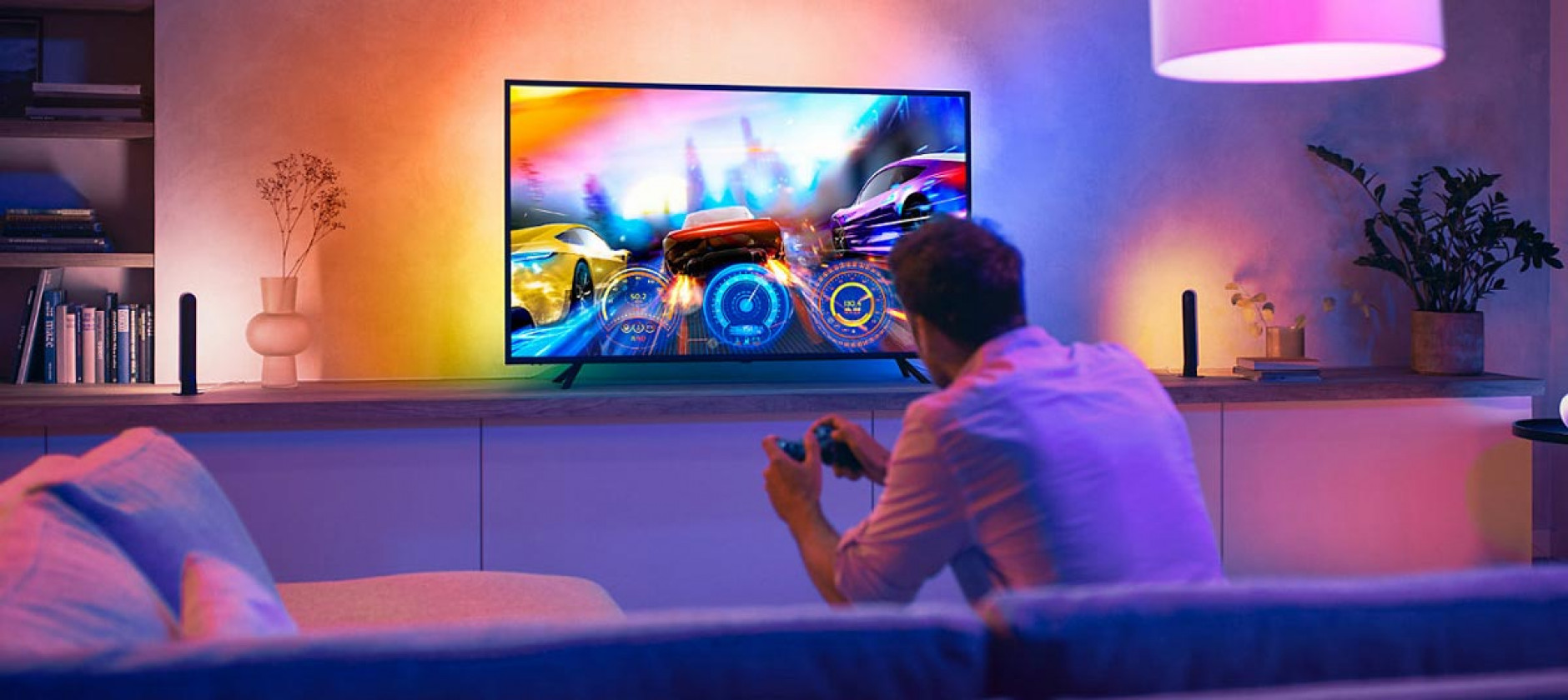 Effetto Ambilight su tutti i TV con Philips Hue Play gradient lightstrip