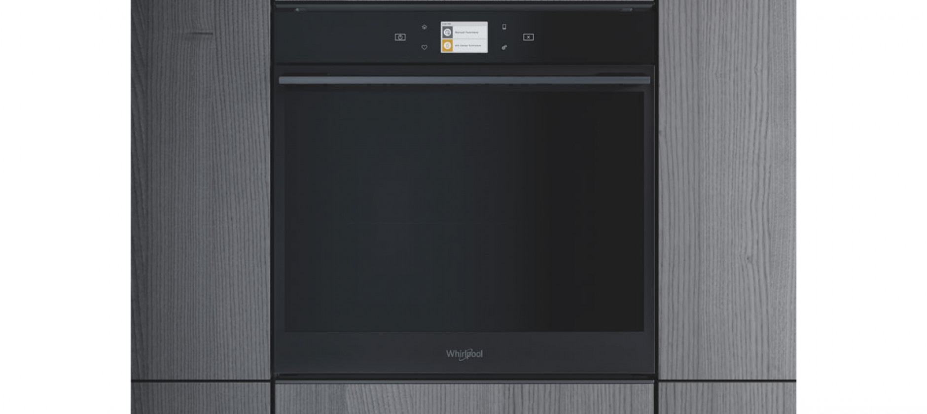 Design e tecnologia per il forno Black Fiber della W Collection di Whirlpool