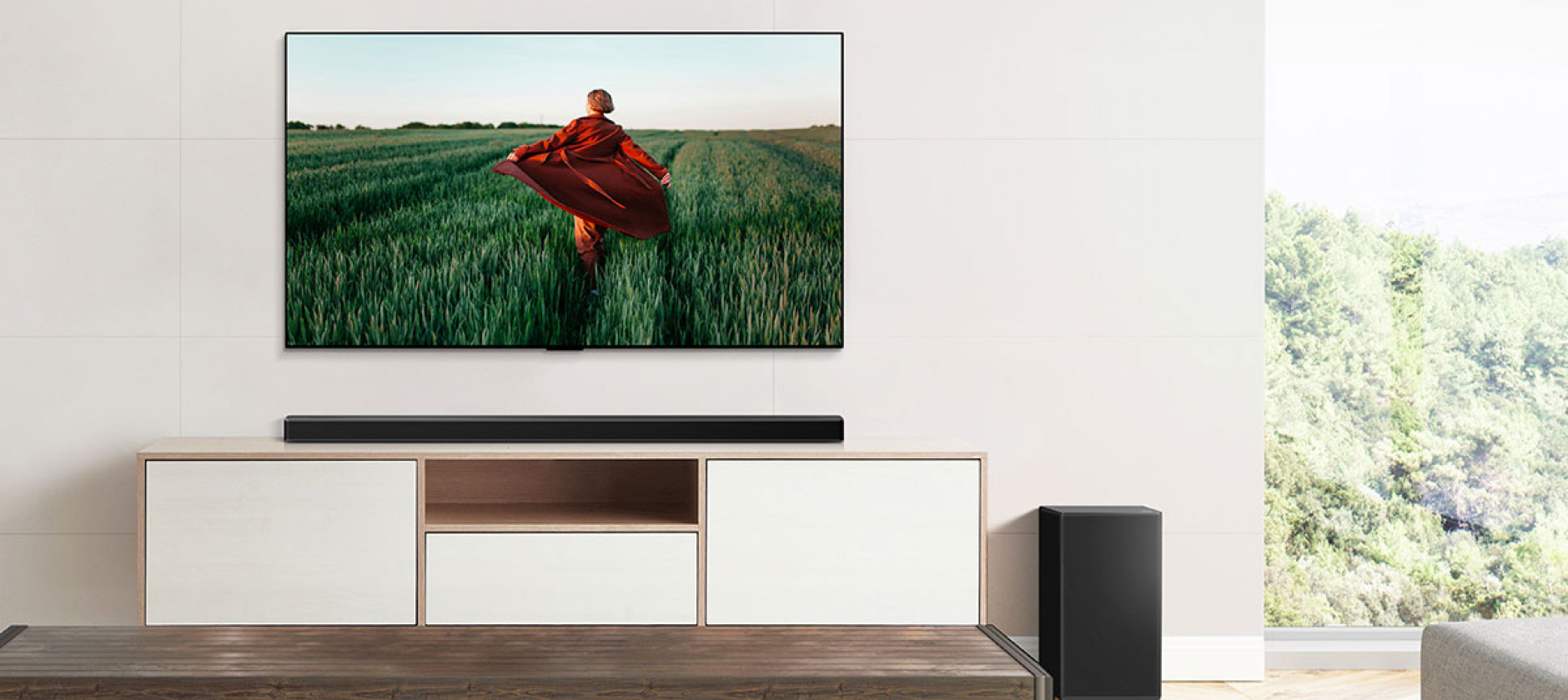 LG soundbar gamma 2021, funzioni intelligenti e design ecosostenibile
