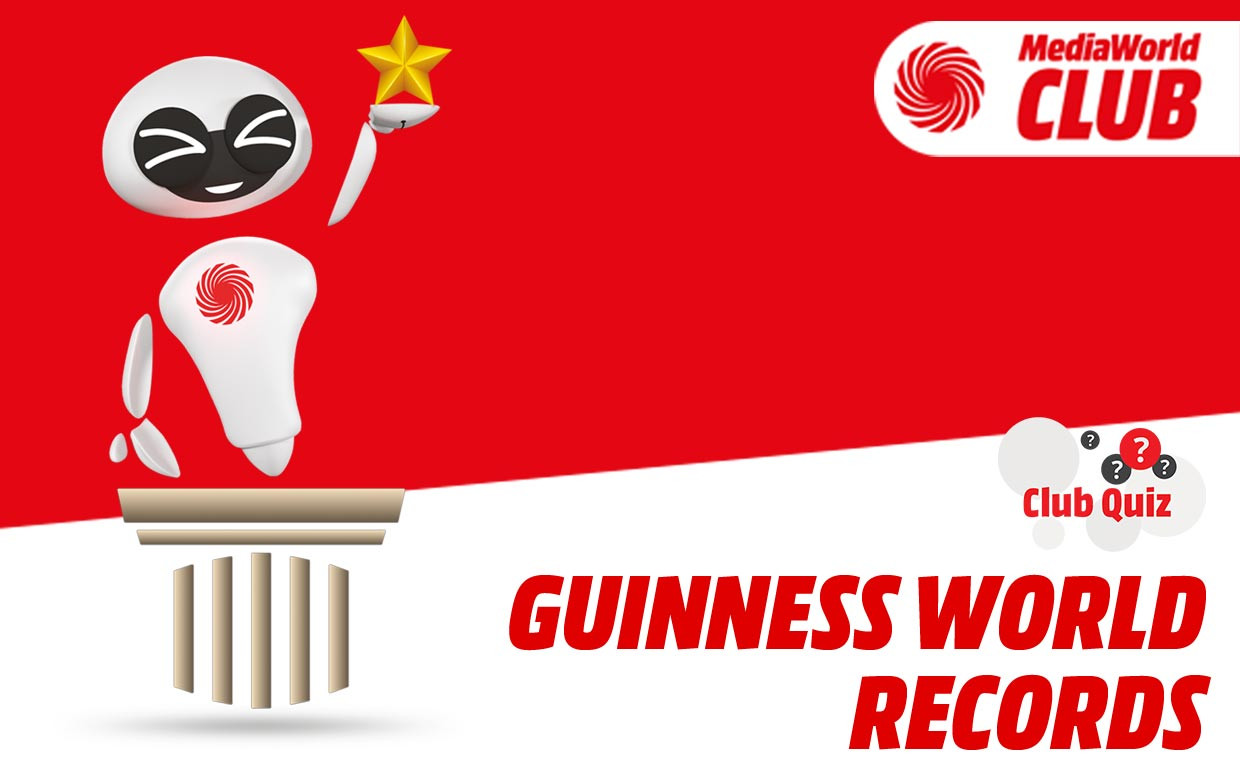 "Le risposte al CLUB Quiz ""Guinness World Records"""