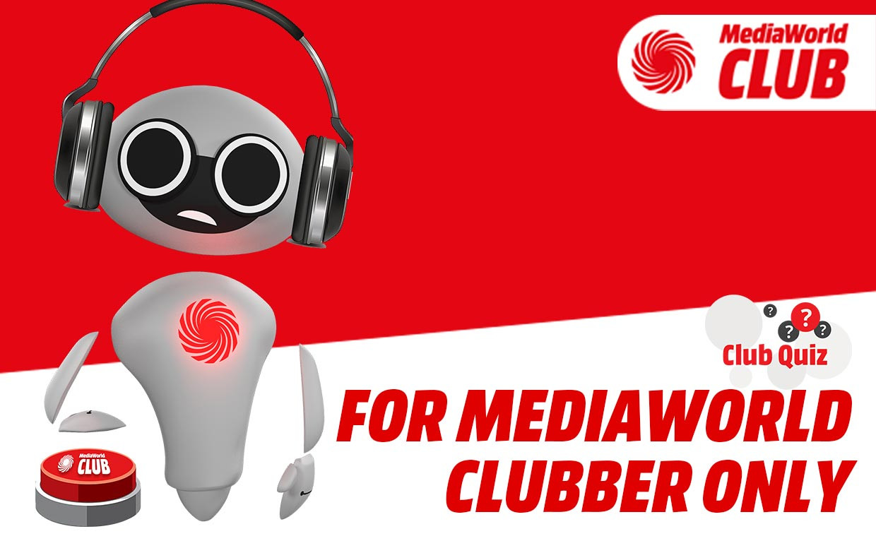 "Le Risposte al QUIZ ""FOR MediaWorld CLUBBER ONLY"""
