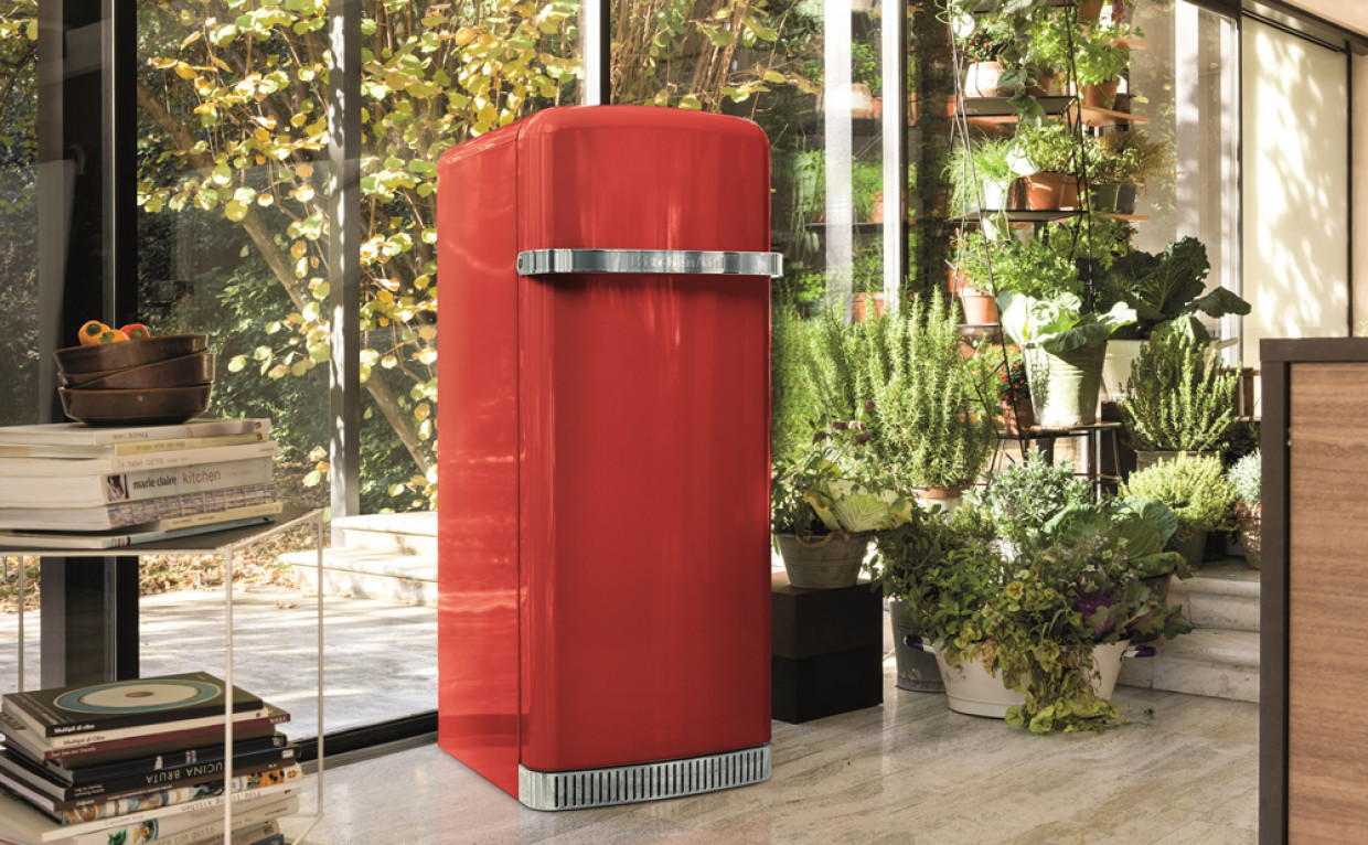 Design e qualità KitchenAid anche nel frigorifero Iconic Fridge