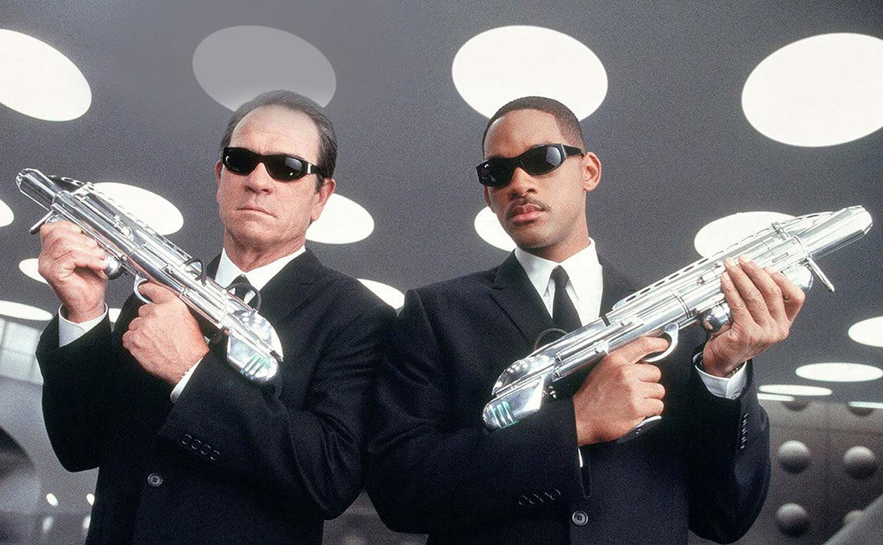 Men in Black La Trilogia / Blu-ray