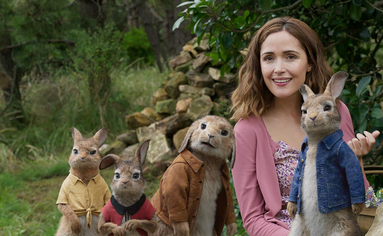 Peter Rabbit, un coniglio irriverente