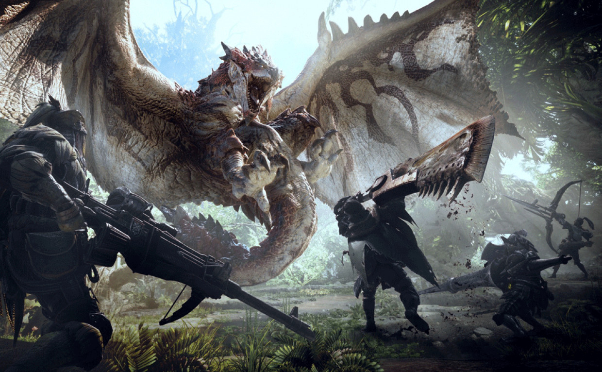 Monster Hunter World: la caccia è aperta