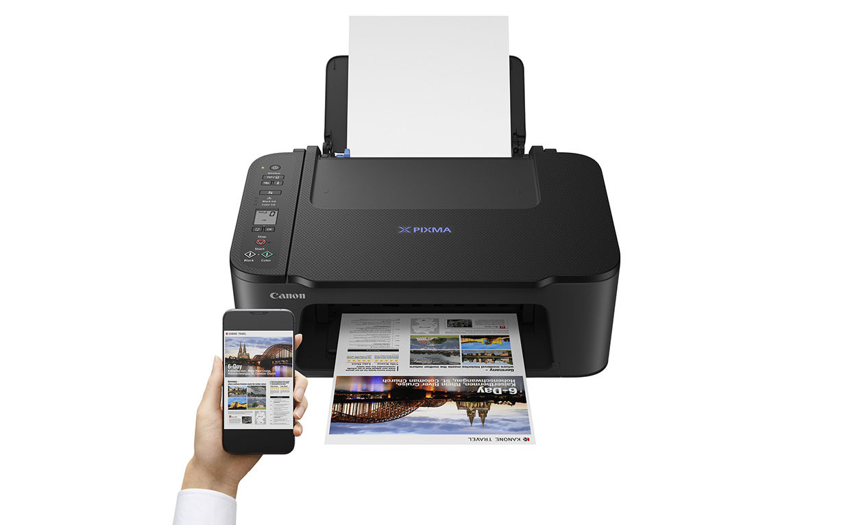 Canon PIXMA TS3450 stampante multifunzione 3-in-1 ideale per lo studio e lo smart working