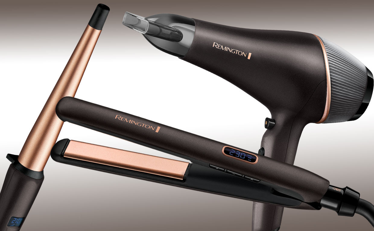 Gamma hair care Copper Radiance di Remington, prestazioni professionali senza rinunciare all'estetica