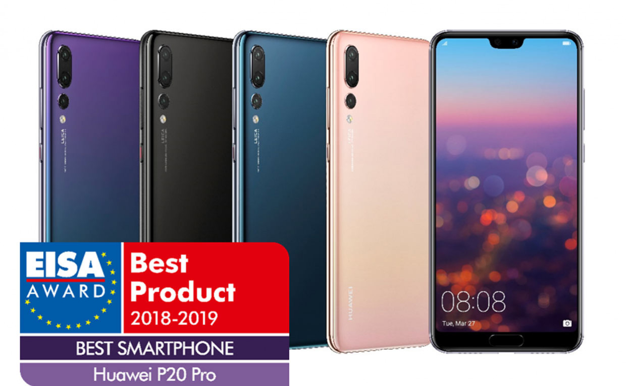 "Il Huawei P20 Pro per EISA è il ""Best Smartphone of the Year"""