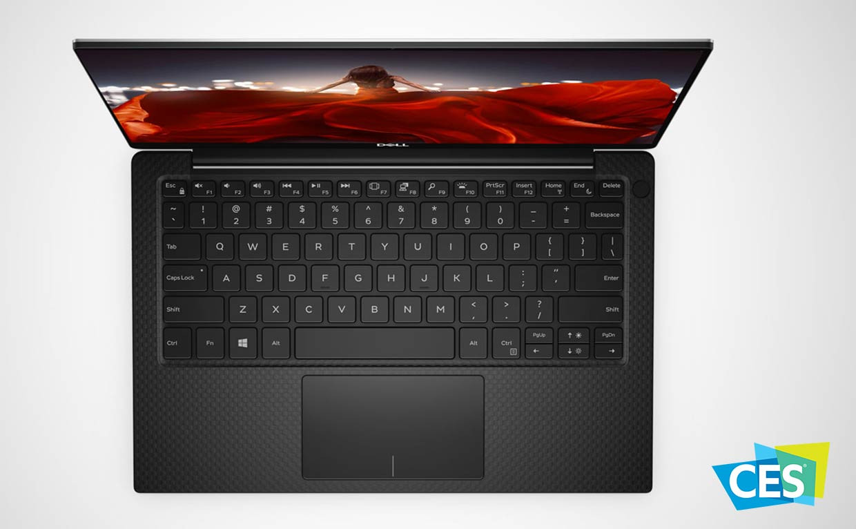 Dell riporta in alto la webcam sull'ultrabook XPS 2019