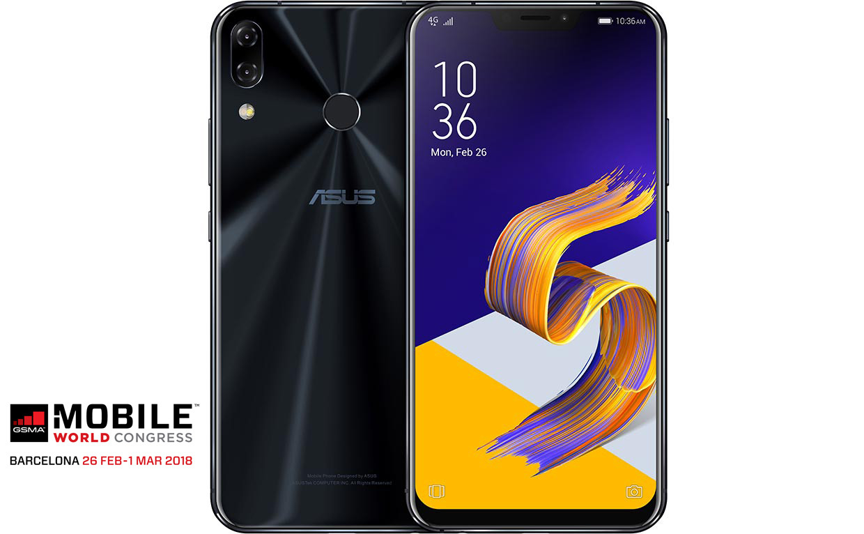 Asus ZenFone 5, una gamma che punta su intelligenza artificiale, schermi borderless e dual camera