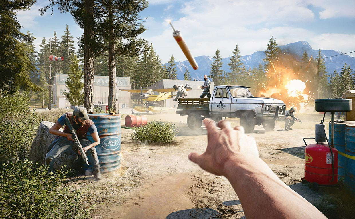 Far Cry 5, cartoline insanguinate dal Montana